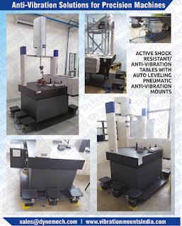 Passive Isolation Of Cmm & Measuring Machines , Coordinate Measuring Machines and Systems, Vibration Isolation Treatments for Coordinate Measuring Machines, vibration isolation for cmm systems , Passive Isolation Of Cmm & Measuring Machines , Laser Interferometry Vibration Isolation , Fabricating & Metalworking .  Dynemech #CMM Vibration Control Technologies contact: sales@dynemech.com