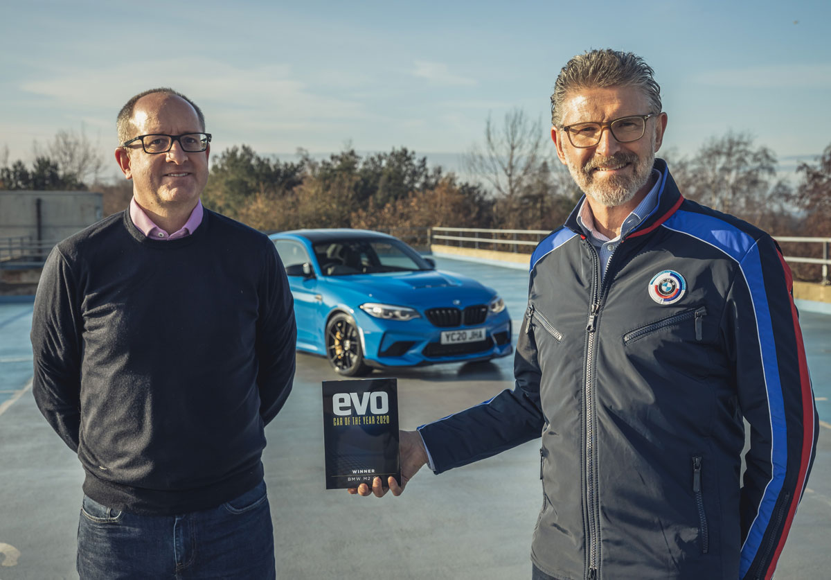 BMW M2 CS Evo Award Car of the Year