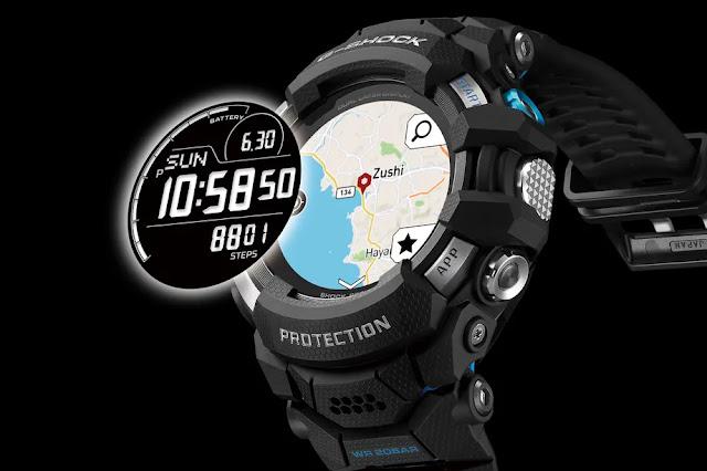 كاسيو تكشف  عن أول ساعة ذكية G-Shock مع نظام Wear OS