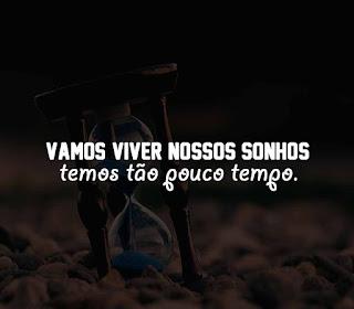 Vamos viver nossos sonhos