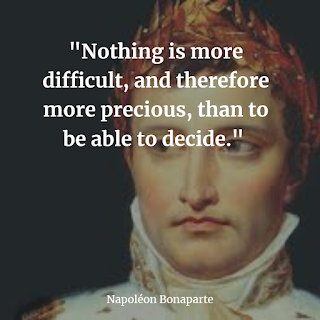 Napoleon Bonaparte best inspiring quotes and his brave sayings