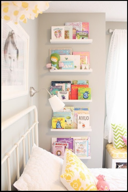 kids wall bookshelf diy