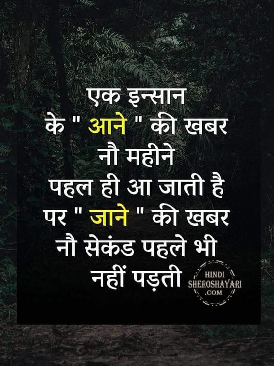 Ek Insan Ke Heart Touching Quote