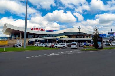 INTERNATIONAL AIRPORTS NEAR KAZAKHSTAN-RUSSIAN MEDICAL UNIVERSITY, ALMATY