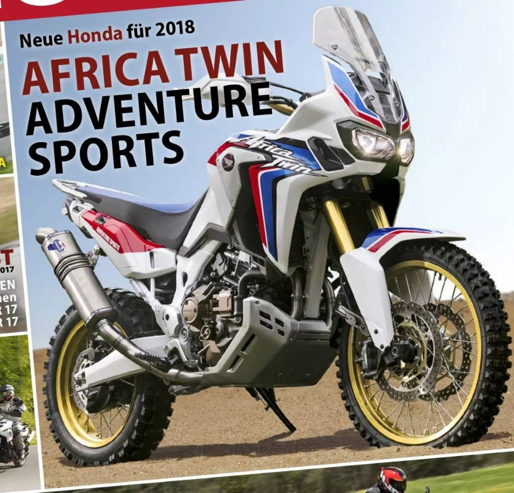 2018 honda africa twin teaser ms blog. Black Bedroom Furniture Sets. Home Design Ideas