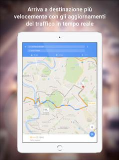 Google Maps - GPS e Ristoranti si aggiorna alla vers 5.26