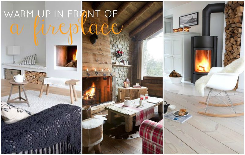 TheBlondeLion Lifestyle Blog 10 things to do in Autumn - 6 sit in front of the fireplace