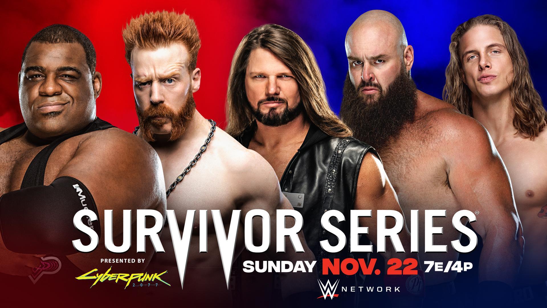 Team RAW é o favorito para vencer a Traditional Match do WWE Survivor Series