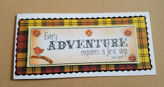 Every Adventure requires a first step DL landscape card
