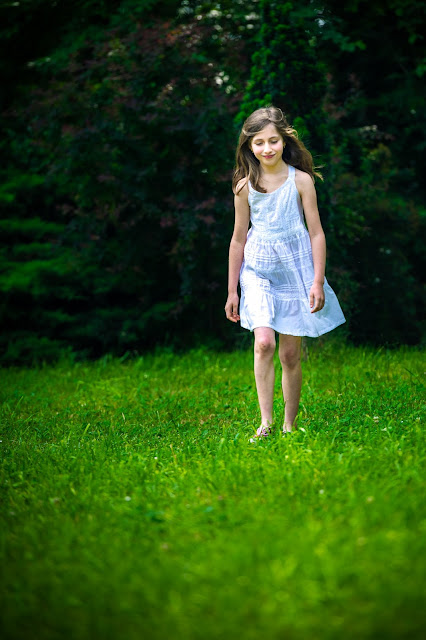 Elleanor de Provence robe blanche enfant