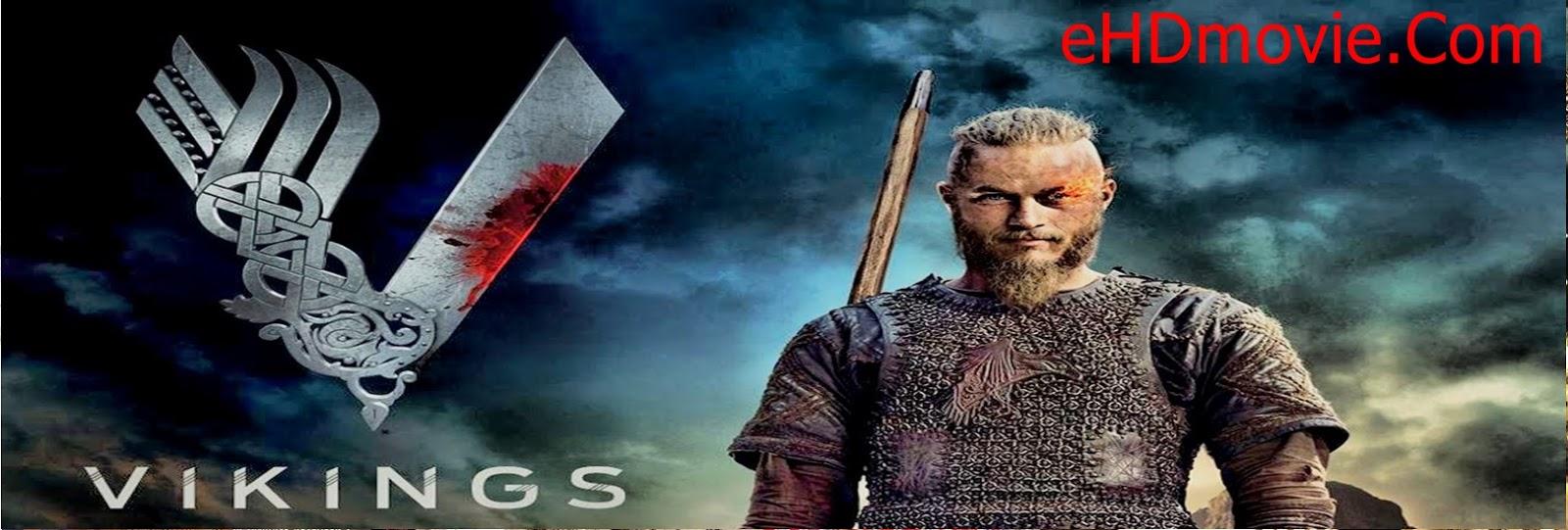 Vikings Season 1 Complete Dual Audio 720p BRRip [Hindi – English] ESubs