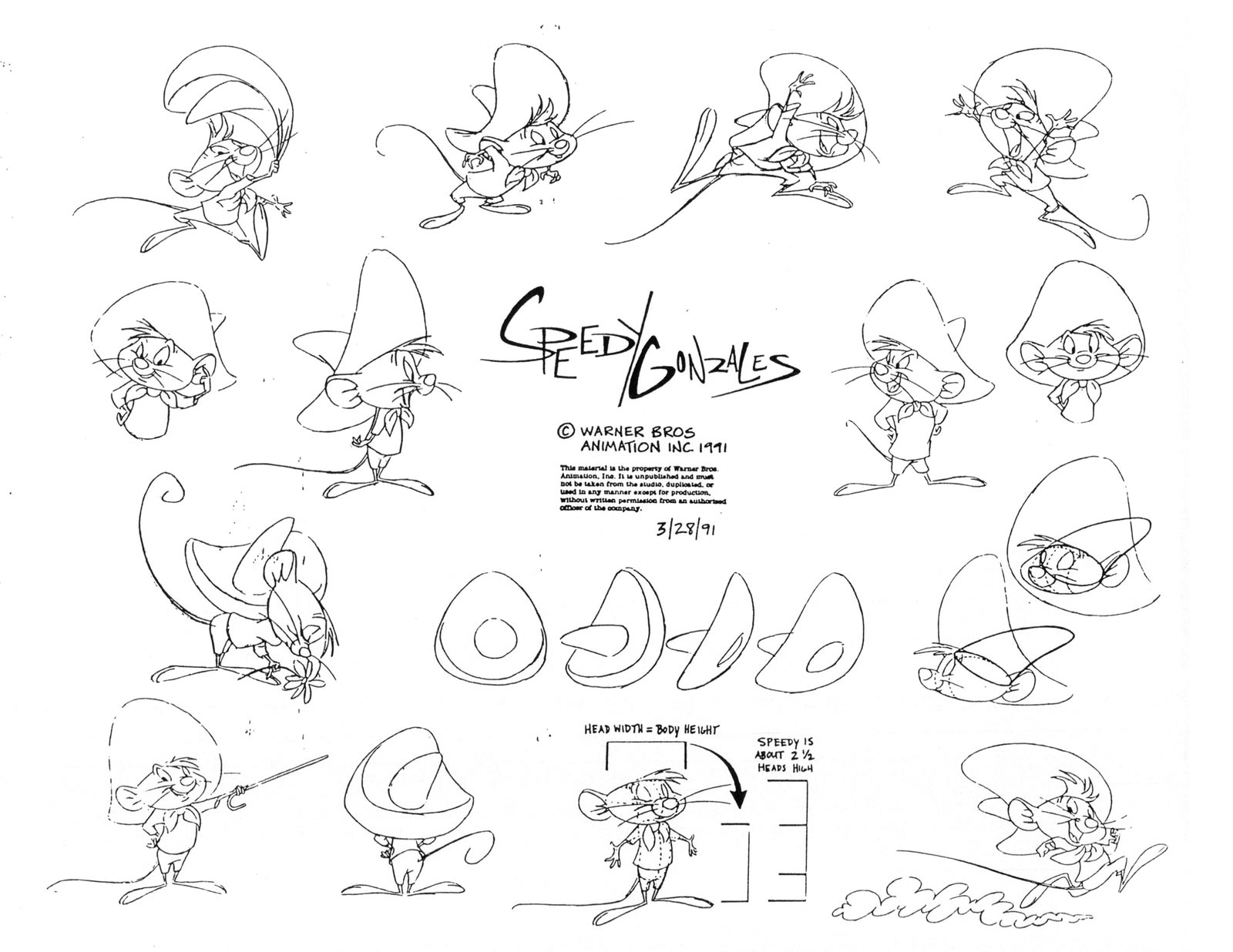 Living Lines Library: Looney Tunes Classic Characters