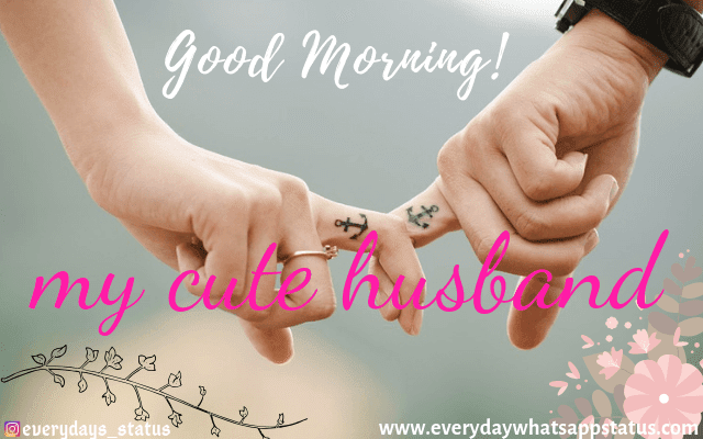Good Morning Images for husband  | Everyday Whatsapp Status | Good Morning Images HD Download
