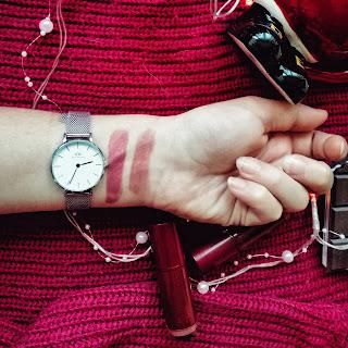 Swatche pomadek makeup revolution