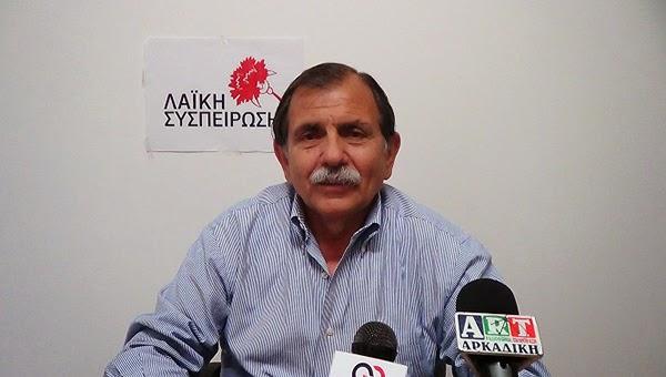 Βαγγέλης Γούργαρης: Ούτε ραχούλα χωρίς Ανεμογεννήτριες, ούτε πλαγιά χωρίς φωτοβολταϊκά