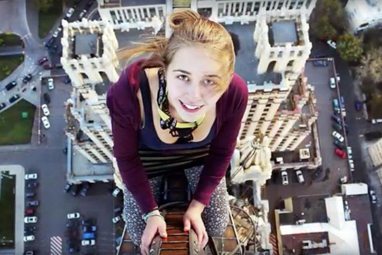 Russian teenager Xenia Ignatyeva