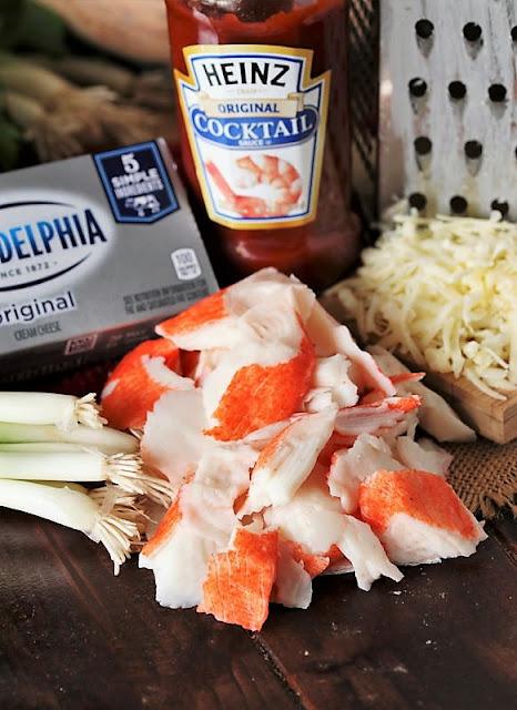 Crab Roll-Ups Ingredients Image