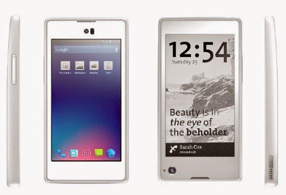 Smartphone YotaPhone, Android Dual Screen