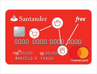 Cartão Santander Free