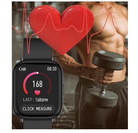 ELEXUS Men Women Fitness Tracker Smart Watch