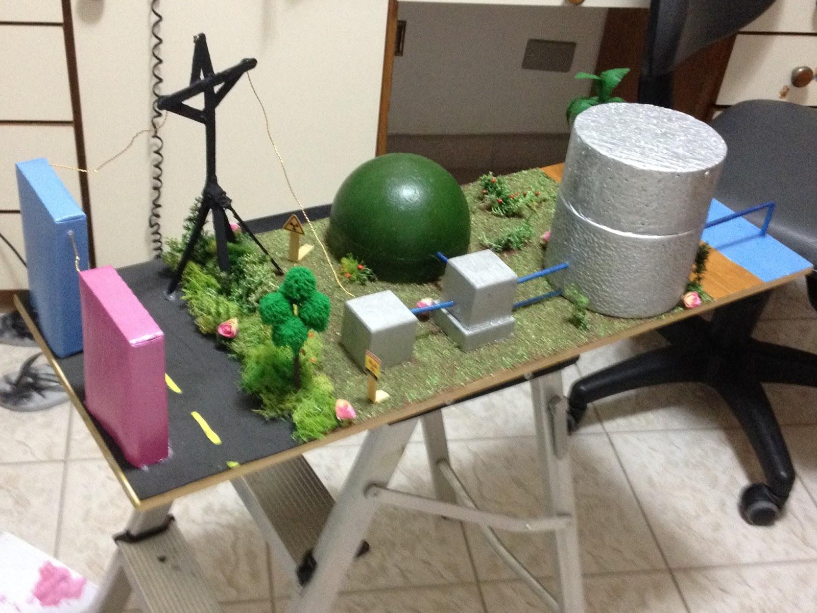 Trabalho escolar sobre usina nuclear