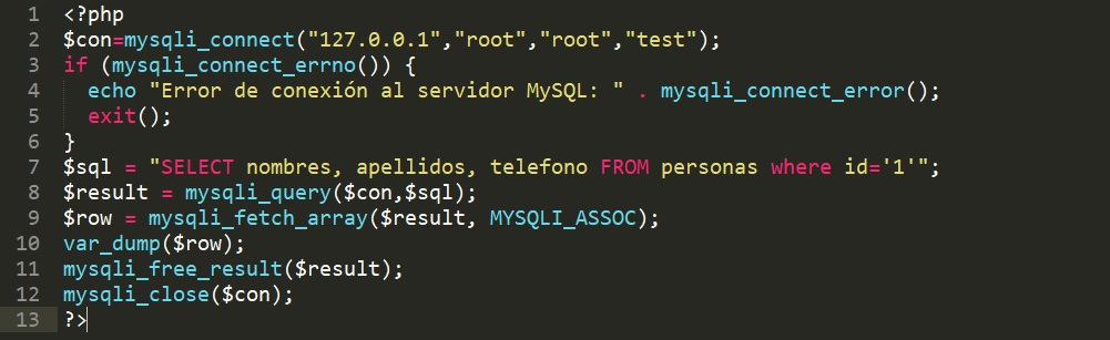Cómo arreglar el Error mysqli_fetch_array en PHP y MySQL