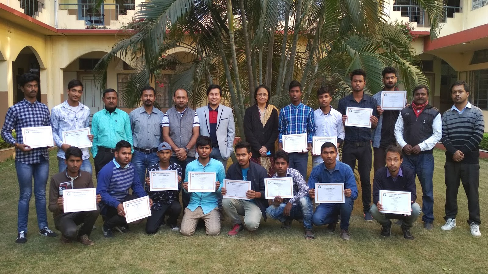 hight resolution of a 5 days free skill development training programme in electrical house wiring under swabalamban 2018 organized by school of technology don bosco college
