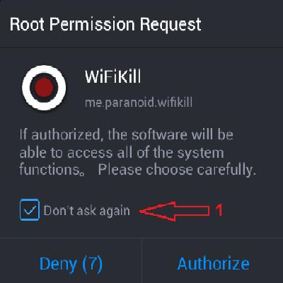 برنامج WifiKill