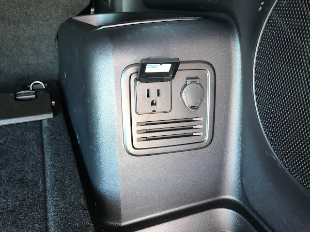 AC open on power outlet in cargo area of 2020 Toyota 4Runner 4X4 TRD PRO
