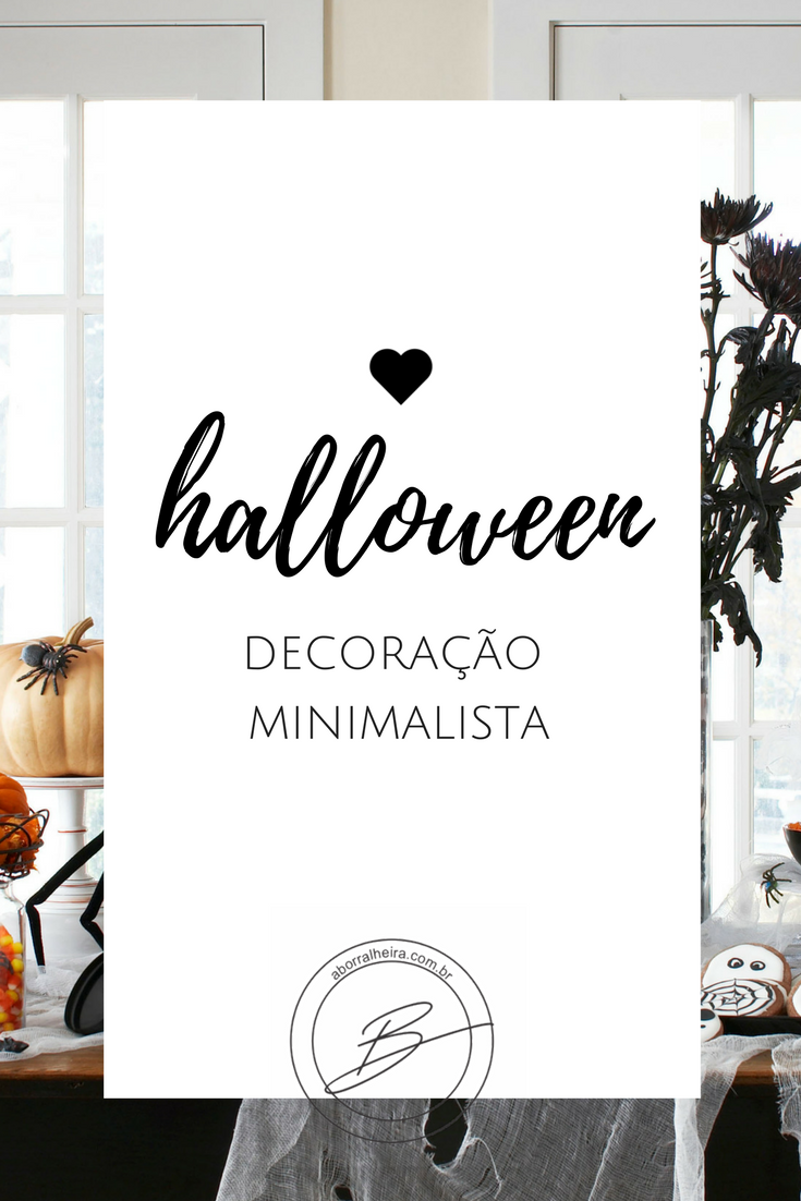 Minimalist Halloween Decor