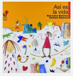 Libro infantil Así es la vida, portada