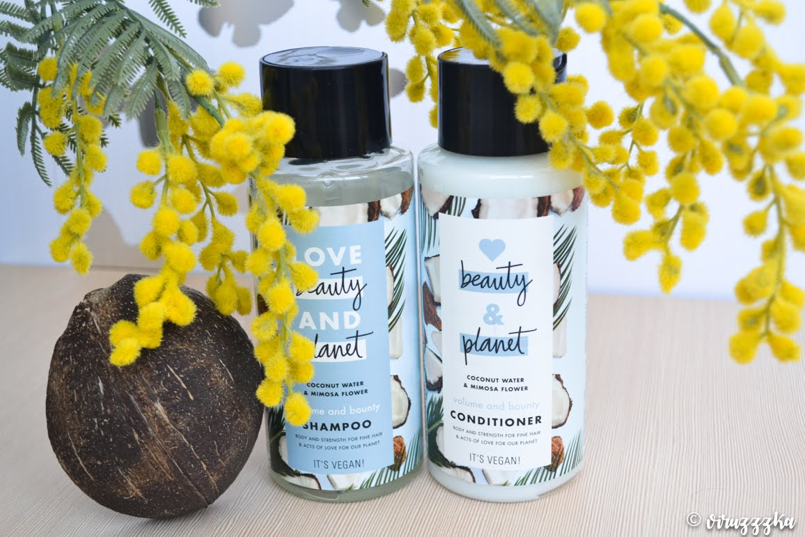 Love Beauty And Planet Volume and Bounty Shampoo & Conditioner Coconut Water & Mimosa Flower Review