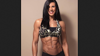 Female bodybuilding Yes I had a great workout