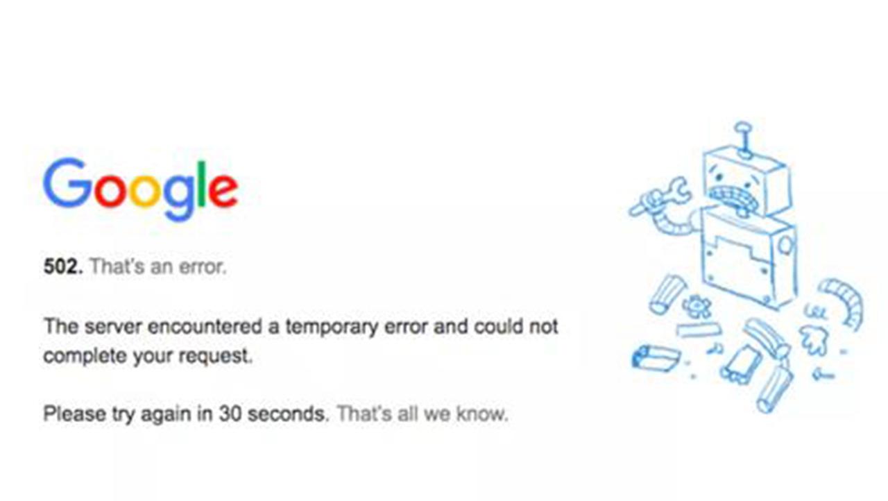 Perkhidmatan Google Seluruh Dunia Terhenti Seketika