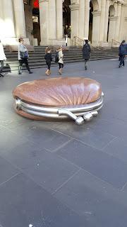 The BIG Public Purse by Simon Perry in Melbourne's CBD.