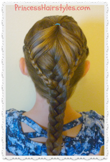 Fairy Wings Braid with #Frenchbraid