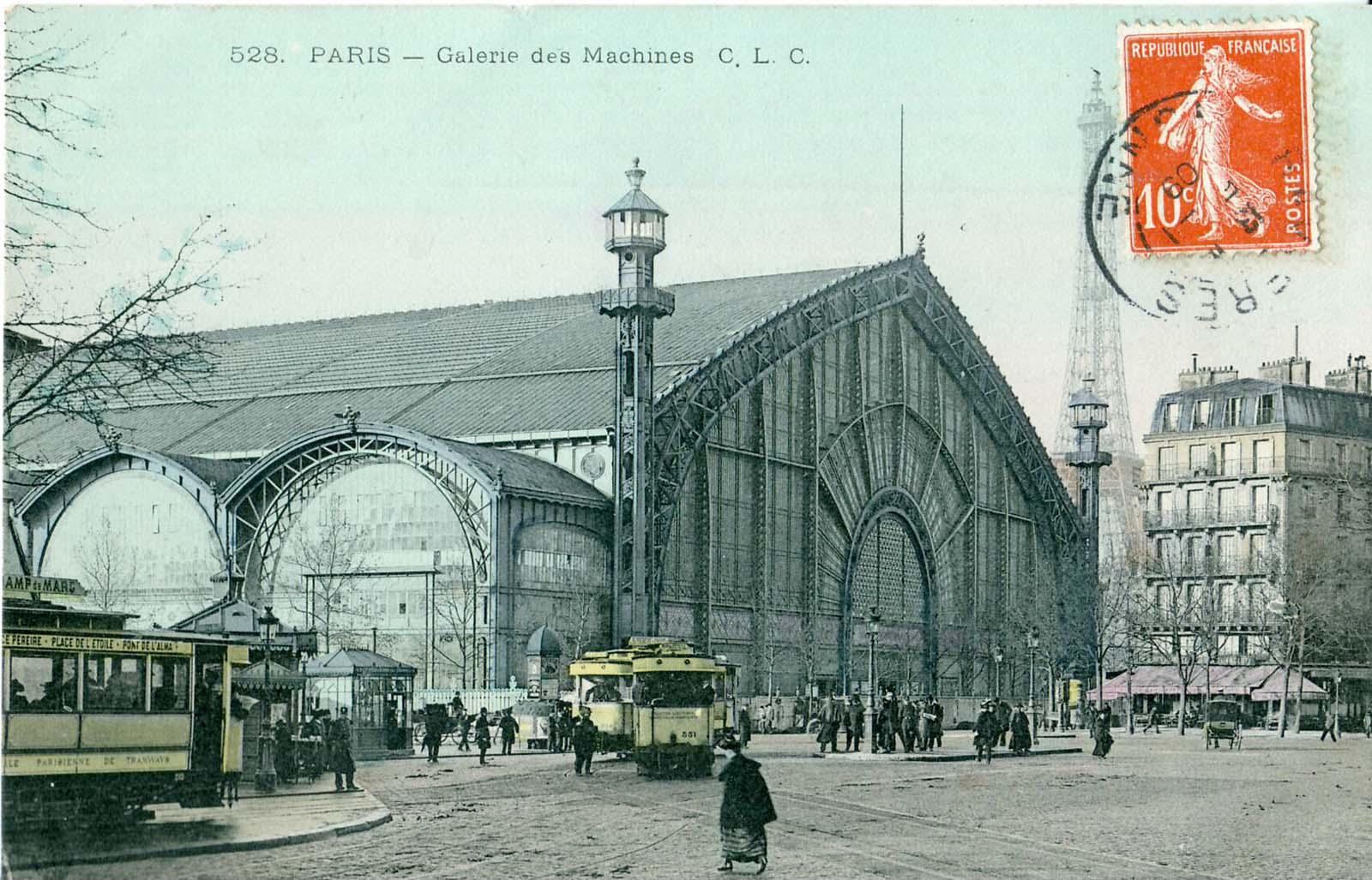 La Galerie des Machines. 1899.