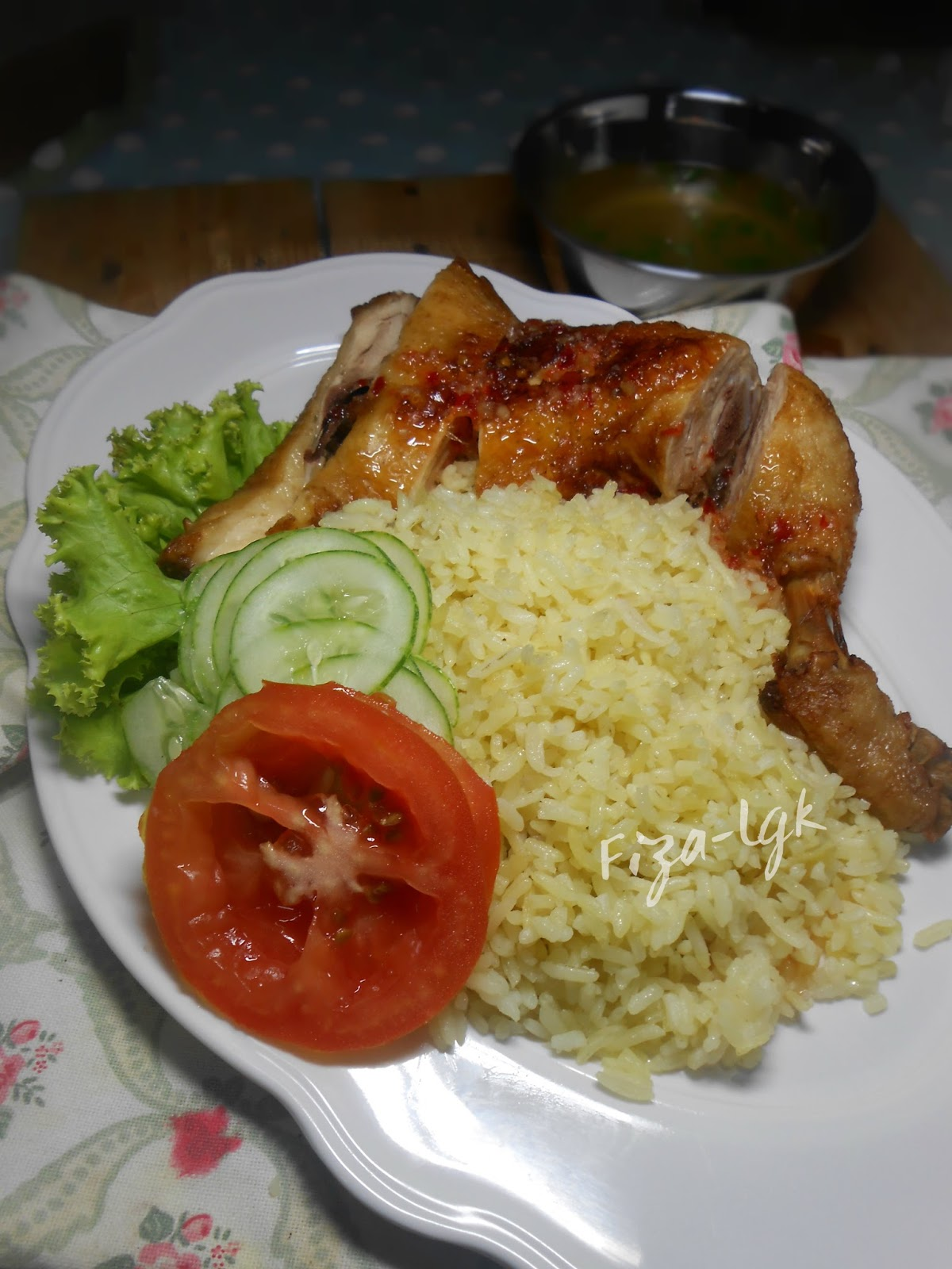 Nasi Ayam Simple Dan Sedap Fiza S Cooking