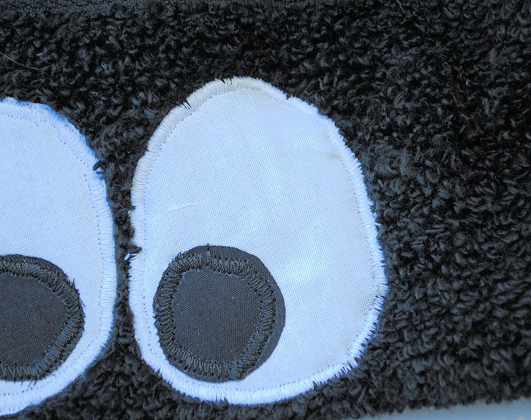 How to make a Ladybug Hooded Towel (Guest Post) - Lines Across