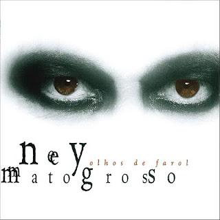 """Capa do disco """"Olhos de Farol"""", lançado em 1998 pelo cantor Ney Matogrosso"""