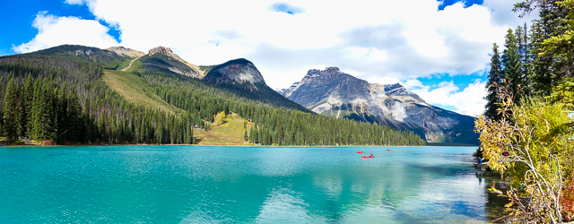Emerald Lake - Yoho National Park - BC Canada