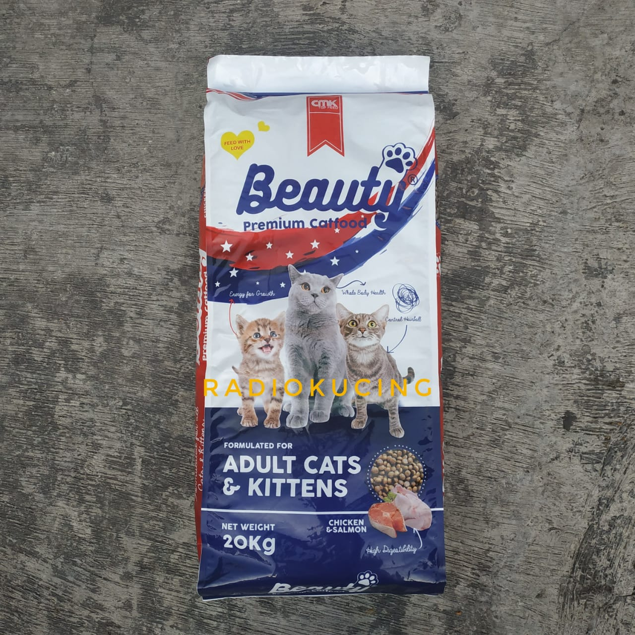 Review Makanan Kucing Beauty Cat Food Premiu Produk Lokal Kibble Gampang Dilibas Radiokucing Com