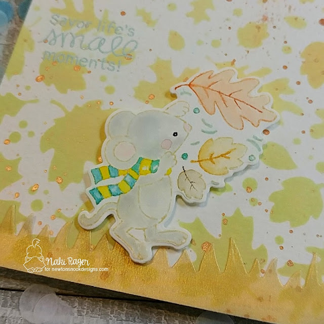 Newton's Nook Designs Autumn Mice Set - Naki Rager