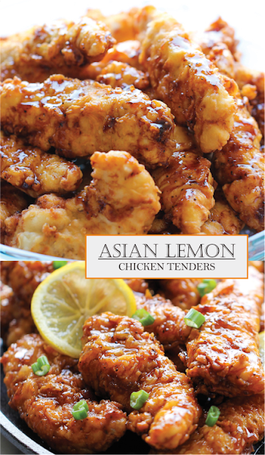 Asian Lemon Chicken Tenders Amzing Food