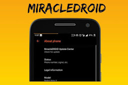 Custom ROM MiracleDroid 1.0 Oreo unofficial for Riva (Redmi 5A) [31 - 05 - 2019]