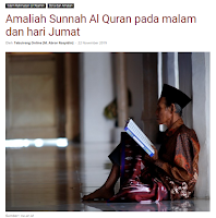 Amaliah Sunnah Al Quran Pada Malam dan Hari Jumat - Kajian Sunnah Tarakan