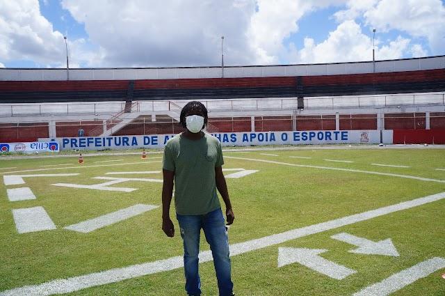 Subsecretário de Esporte de Alagoinhas comenta sobre manutenção do Estádio Antônio Carneiro