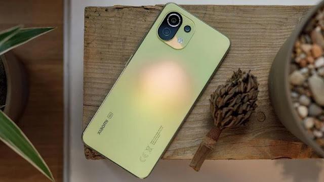 5. Xiaomi Mi 11 Lite 5G