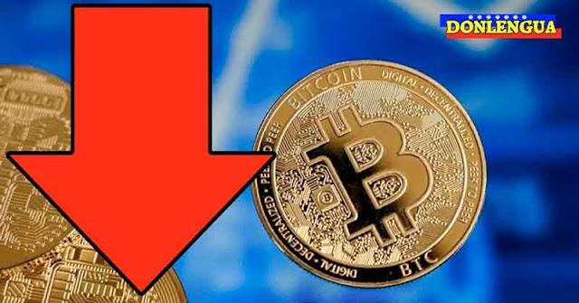 Bitcoin desplomado arrastra a las demás criptomonedas a un abismo sin fondo