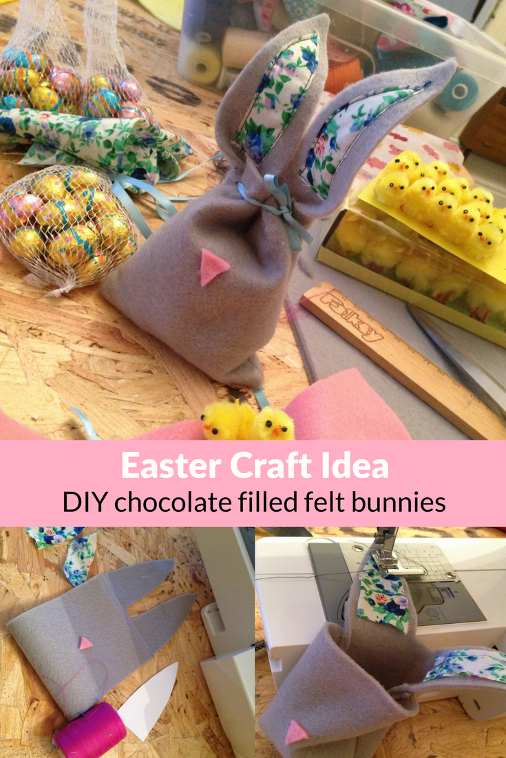 Craft blog uk tips for selling craft online easter craft ideas the last few years ive used my big stash of felt squares to make little easter gift bags negle Images
